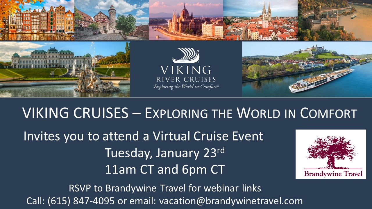 V I K I N G River and Ocean Cruise Event